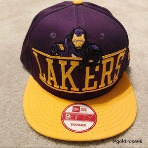 New Era Lakers Iron Man snapback hat